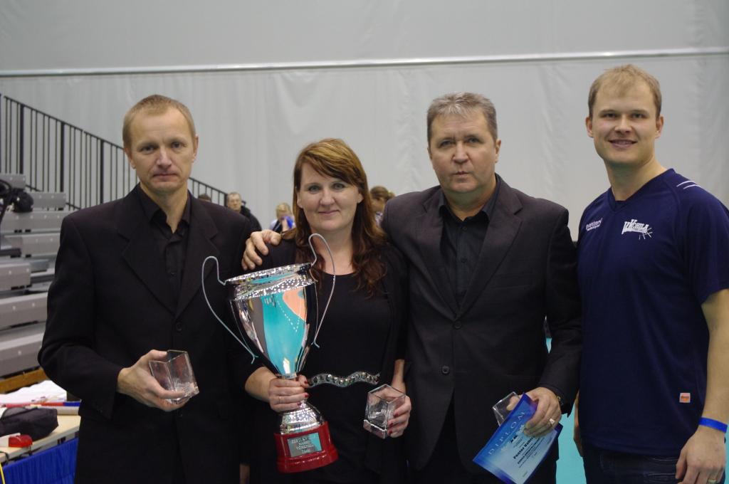 Kohila naiskonna esimene tiitlivõit - Eesti karikavõit Kuressaares 2013