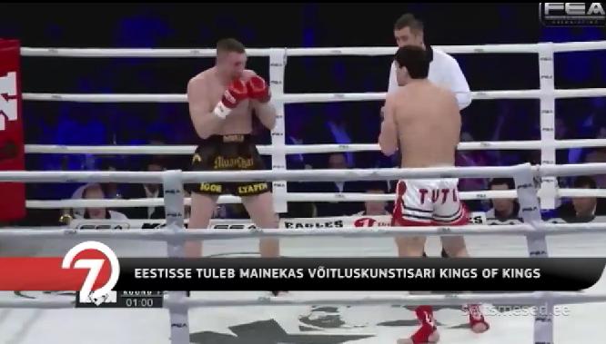 TV3! Mainekas võitluskunstisari King of Kings jõuab Eestisse