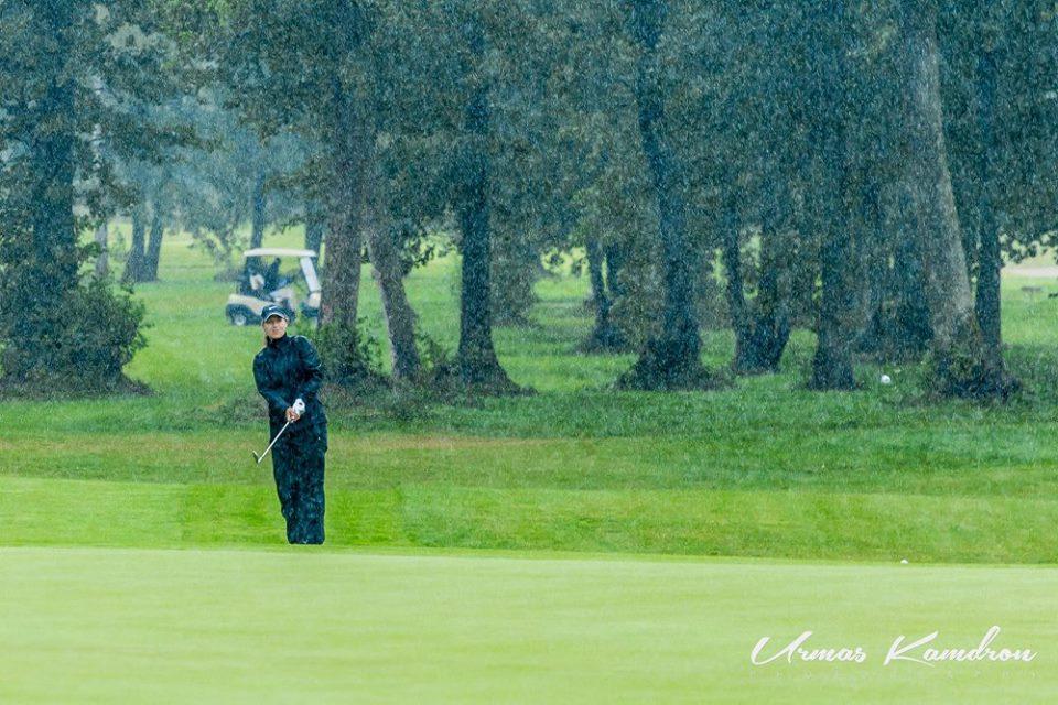 AJAKIRI GOLF! Golfi Eesti löögimängu mv-ste 1.võistluspäev katkestati ja tulemused  tühistati