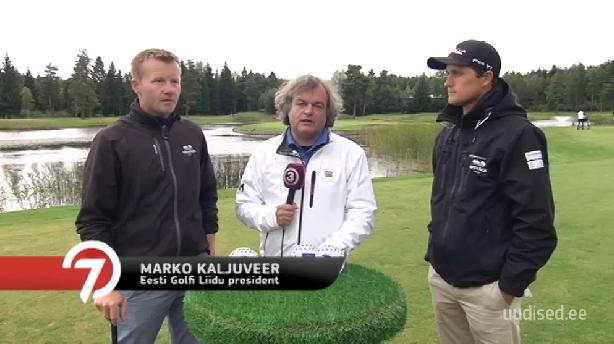 AJAKIRI GOLF! TV3 GOLFIRUBRIIK! Kaks prod õpetavad golfi algtõdesid ja võistlevad omavahel