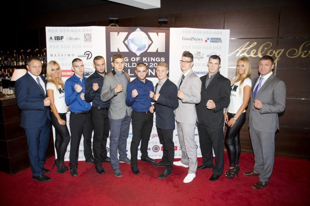 VAATA HIIGELGALERIID! King of Kingsi korraldajad tutvustasid pressikonverentsil võitluskunsti sarja Tallinna etapi tausta