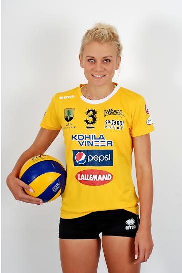 LOE INTERVJUUD! Kohila võrkpallinaiskonna liige Julija Mõnnakmäe: armastus võrkpalli vastu on muutnud selle minu elustiiliks