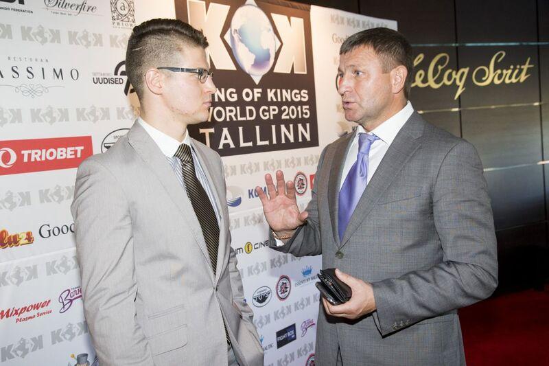 Edvin Erik Kibus ja Igor Golubev
