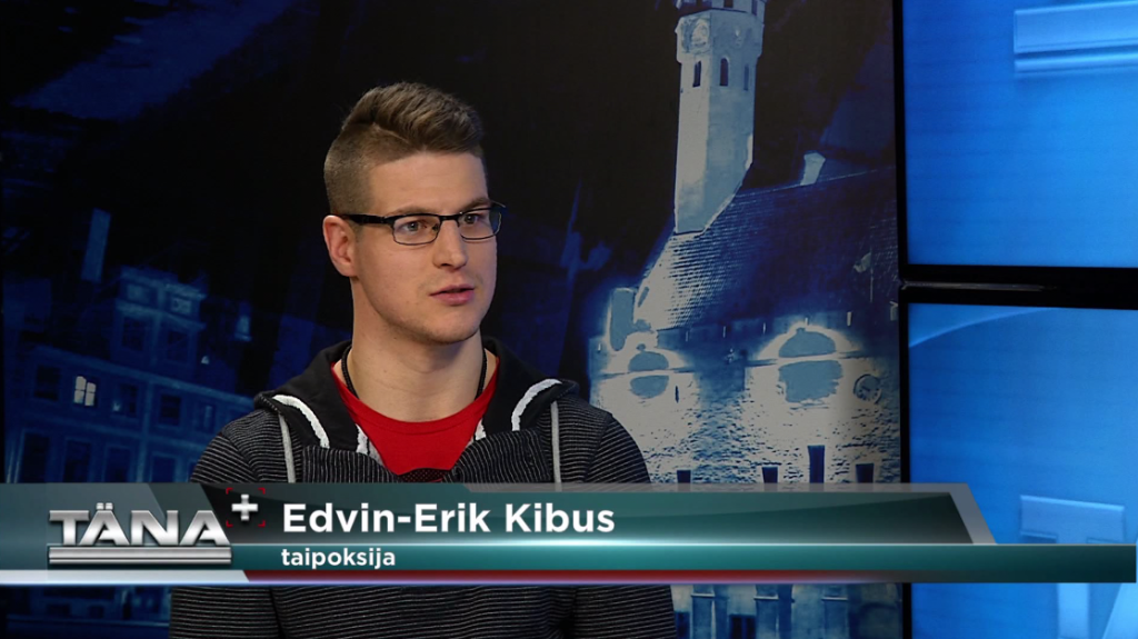 TÄNA+! King of Kingsi võitleja Edvin Erik Kibus näeb Eurospordi ülekannetes motivaatorit