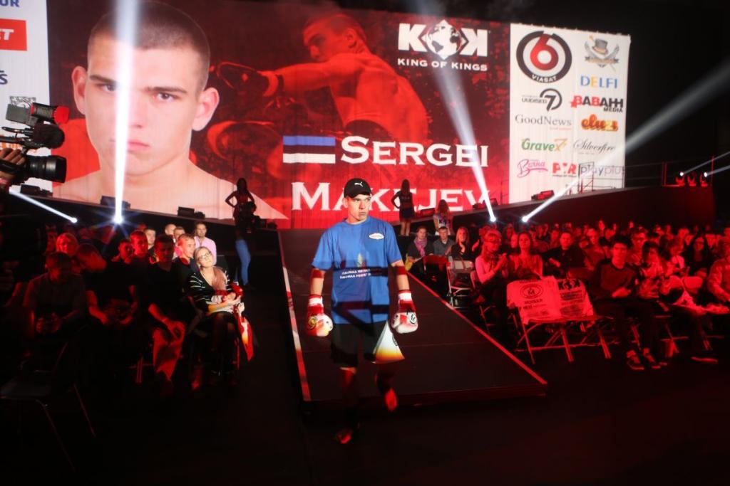 KING OF KINGS FOTOD! Sergei Makejev kaotusel ennast murda ei lase
