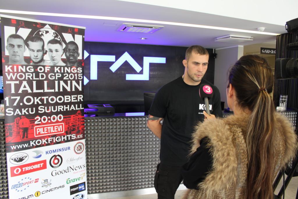 TV3 INTERVJUU! King of Kings võitleja Alik Tseiko vastast ei alahinda