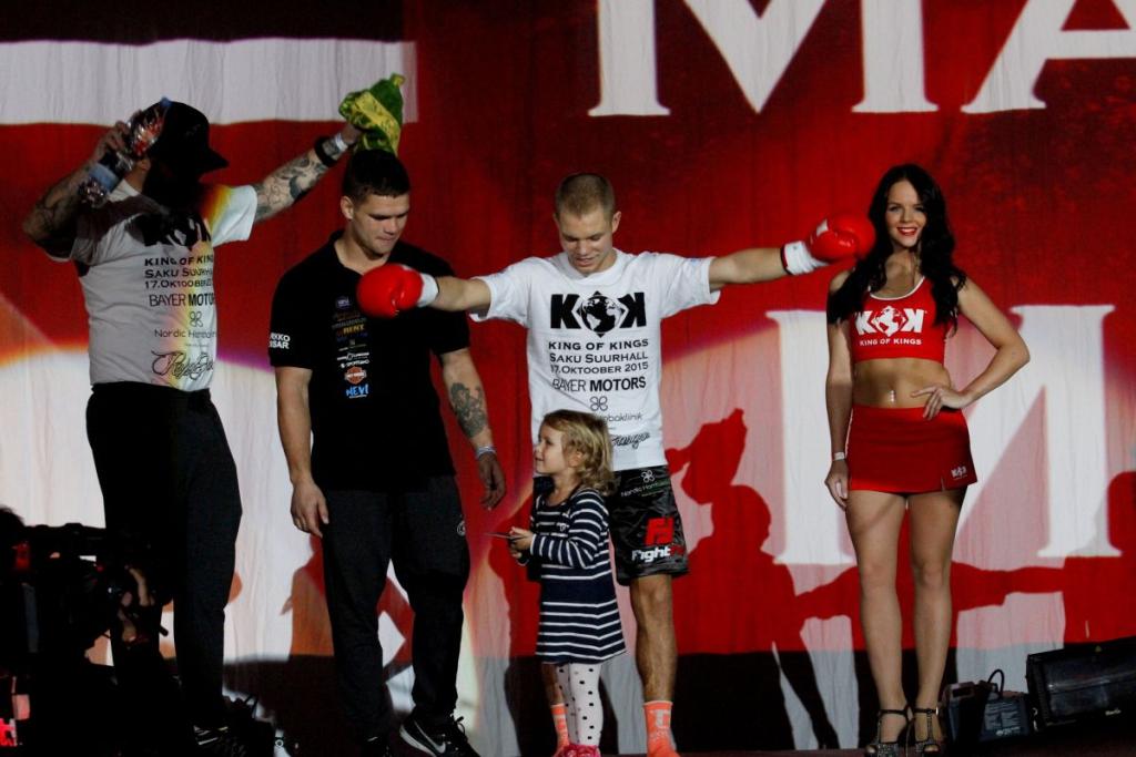HIIGELGALERII JA VIDEOD! KING OF KINGS! Markko Moisar: tundsin matši lõpus, et tahaks ühe raundi veel teha