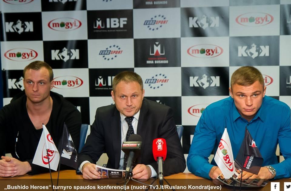 GOODNEWS ON KOHAL! KING OF KINGS! Järjekordne suurvõistlus leiab aset Leedus Vilniuse Siemens Arenal