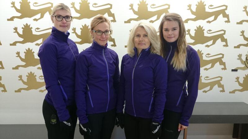 Eesti curlingu naiskond võistleb Šveitsi maailmakarika etapil
