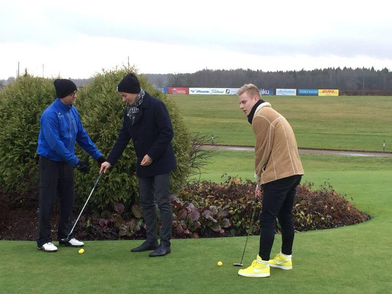 AJAKIRI GOLF! Euroopa PGA käis meie pro'sid koolitamas