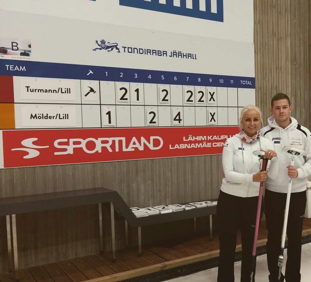 EESTI MEISTRID! Eesti meistriteks segapaaride curlingus tulid Marie Turmann ja Harri Lill