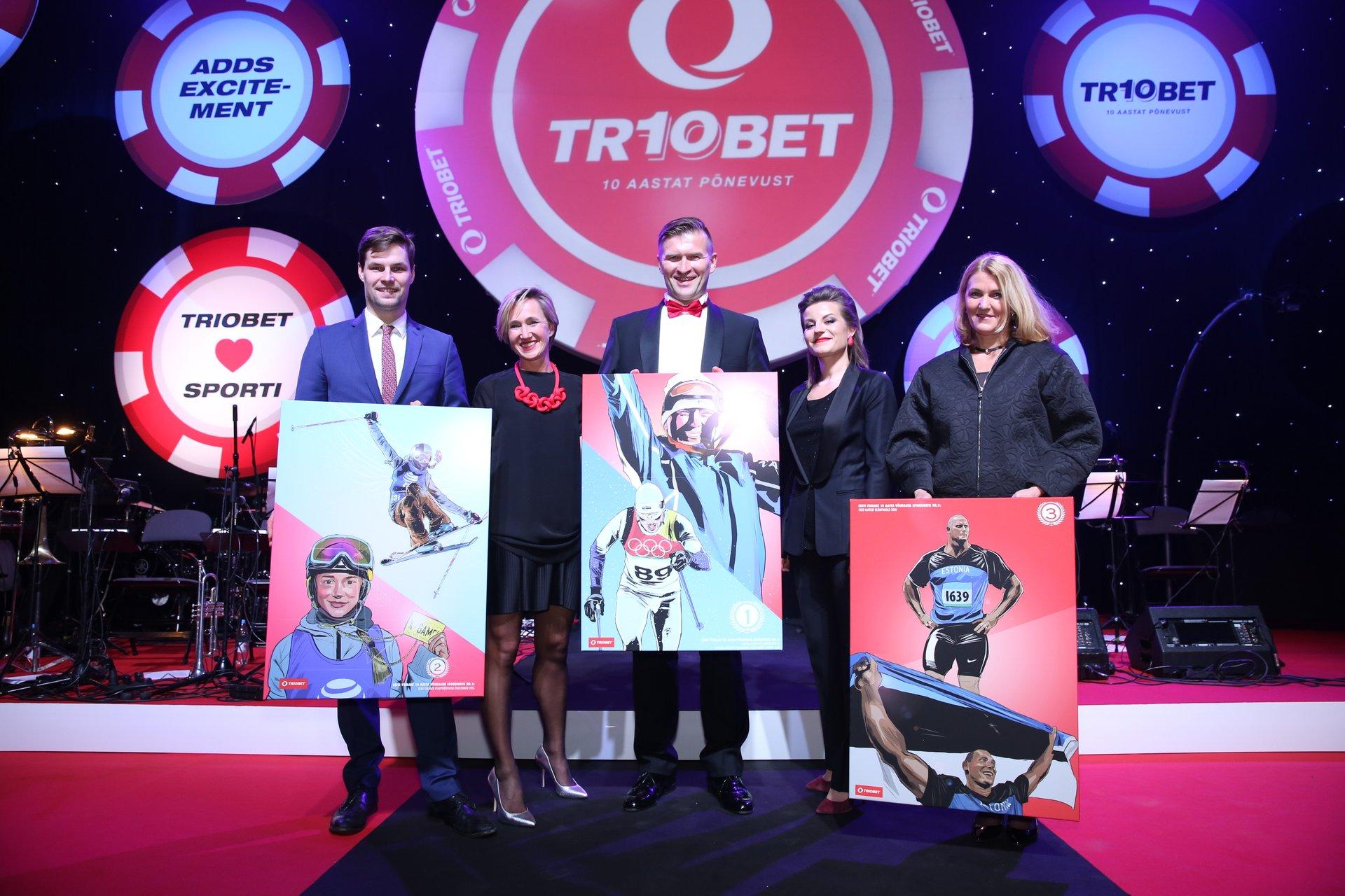 GALERII! Triobet tunnustas Eesti kümnendi võimsamaid spordihetki