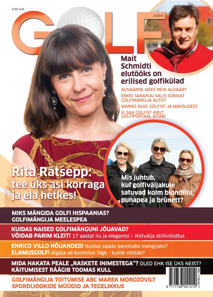 TÄHISTAMAKS VABARIIGI AASTAPÄEVA! Ajakirja Golf on Eesti Vabariigi 98. aastapäeva puhul võimalik tellida poole odavama hinnaga