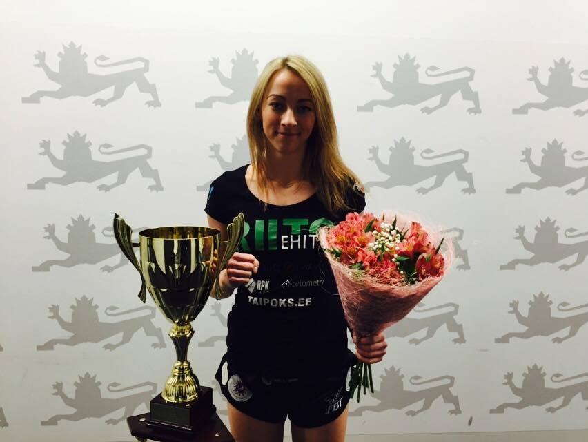 ANDRA ON PARIM! Eesti Võitlusspordi Ühendus tunnistas Andra Aho aasta naissportlaseks