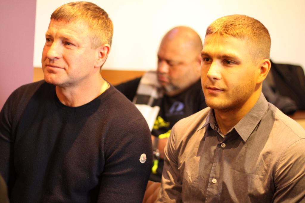 Igor Golubev ja Roman Zõbin