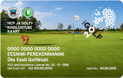 AJAKIRI GOLF! TASUB TEADA! Golfireisile minnes võta kaasa HCP-kaart!
