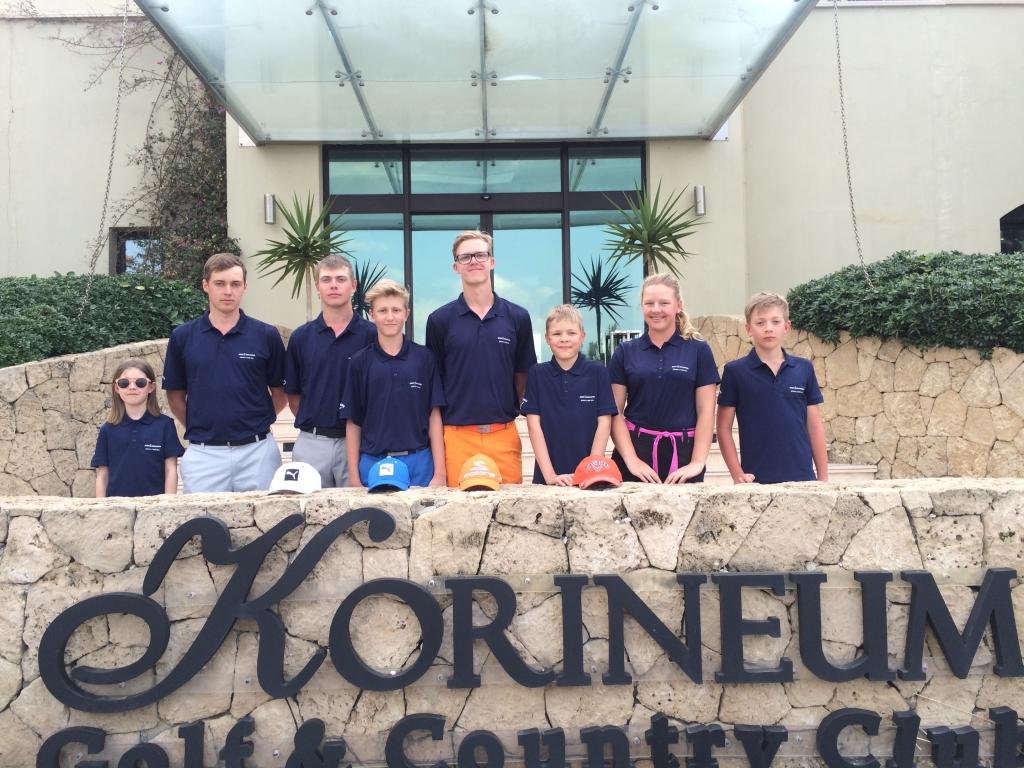 AJAKIRI GOLF! PÕNEV KOGEMUS! Golfilaager viis noored Küprose golfimurule