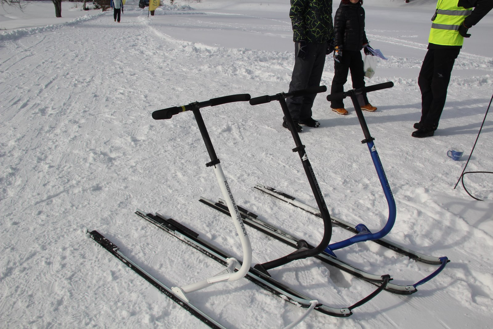 MATKAMARATON! Pühajärve matkamaraton tõukekelkudel viiakse läbi lumerajal