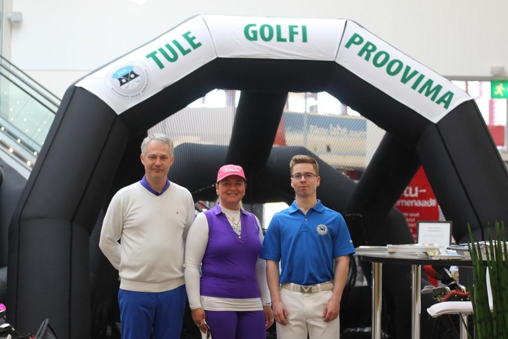 OTSE SÜNDMUSKOHALT! Pärnu Kaubamajakas käib tutvustav golfimöll