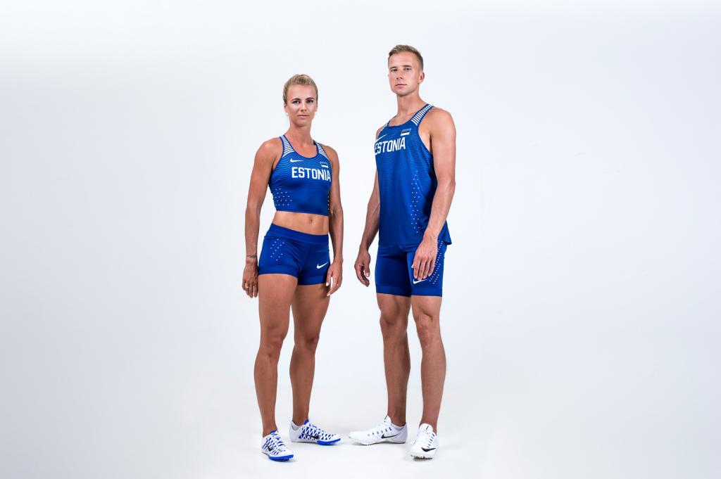 Nike esitles Eesti sportlaste võistlusvormi Rio olümpiamängudeks