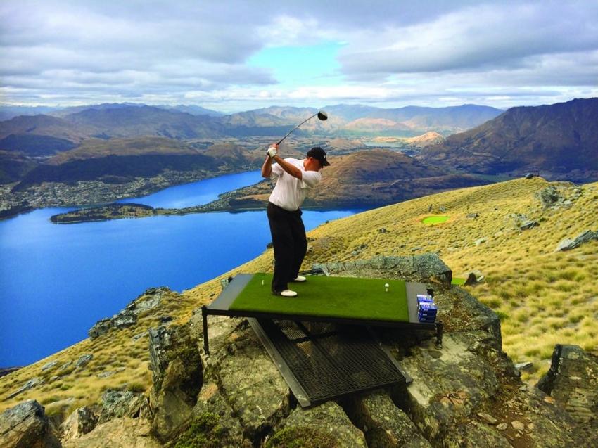 AJAKIRI GOLF! GOLF PILDIS! Kuidas mängitakse golfi maakera kuklapoolel?