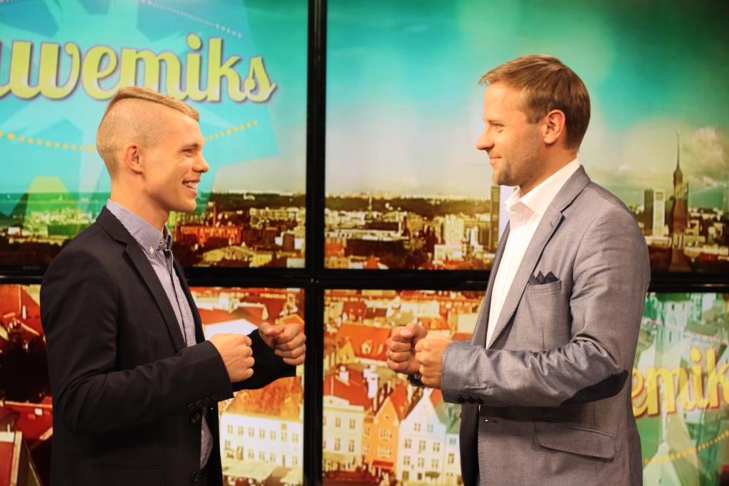 """Telesaates """"Suvemiks"""" lähevad täna vastamisi Markko Moisar ja Revo Raudjärv"""
