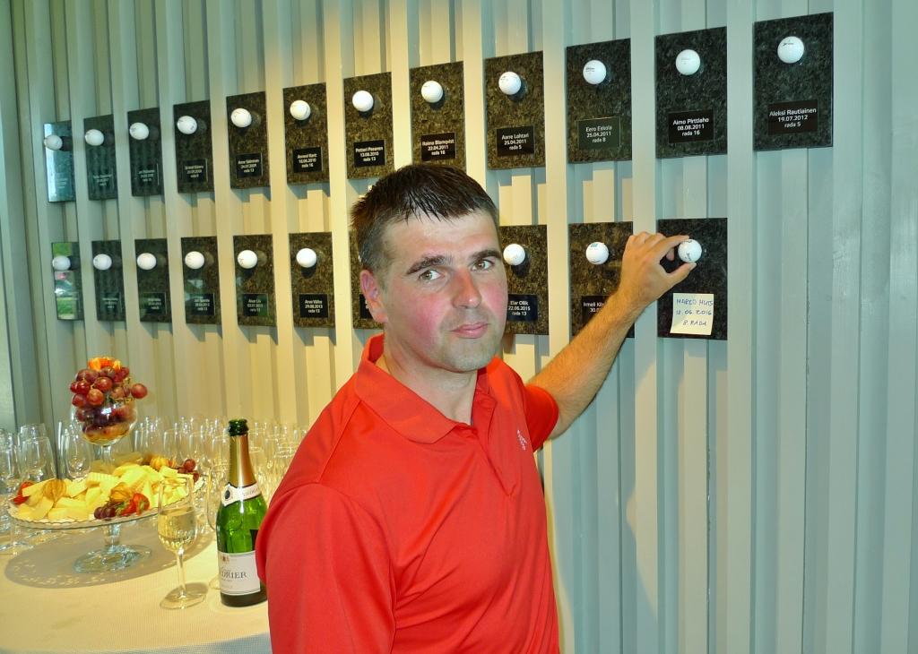 HOLE IN ONE! Marko Mutsi lõi Valgerannal toimunud golfivõistlusel Hole in One'i