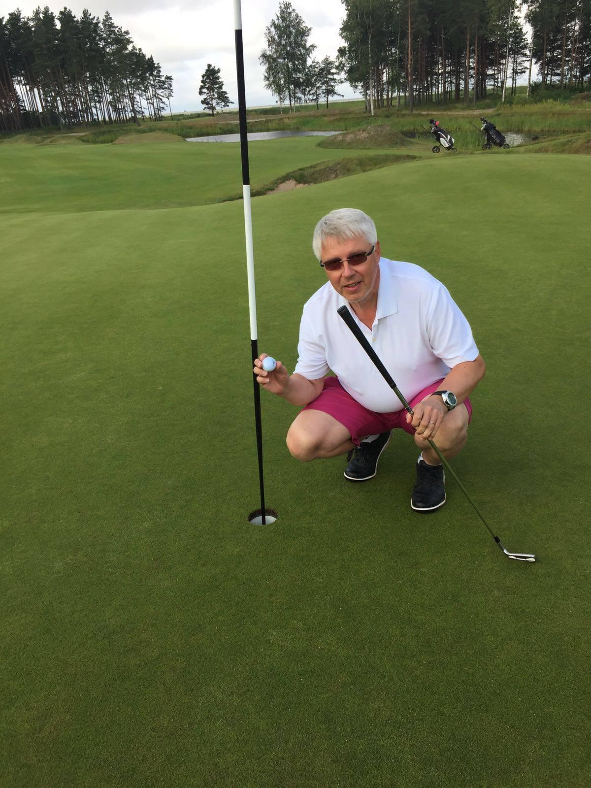 INTERVJUU! Soomlane Jari Leinonen tegi Pärnu Bay Golf Links väljakul ajalugu