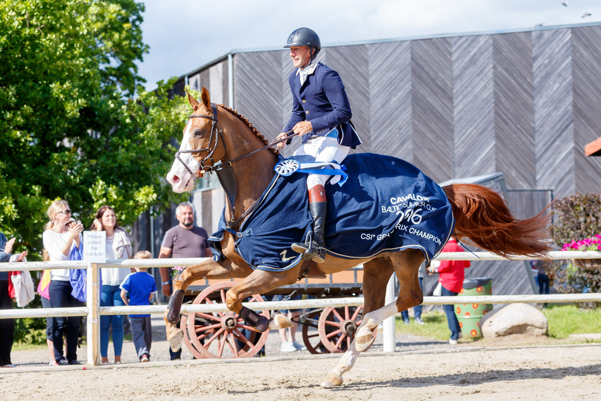 Cavalor Baltic Summer Cup, 17.07.2016  Foto: Külli Tedre