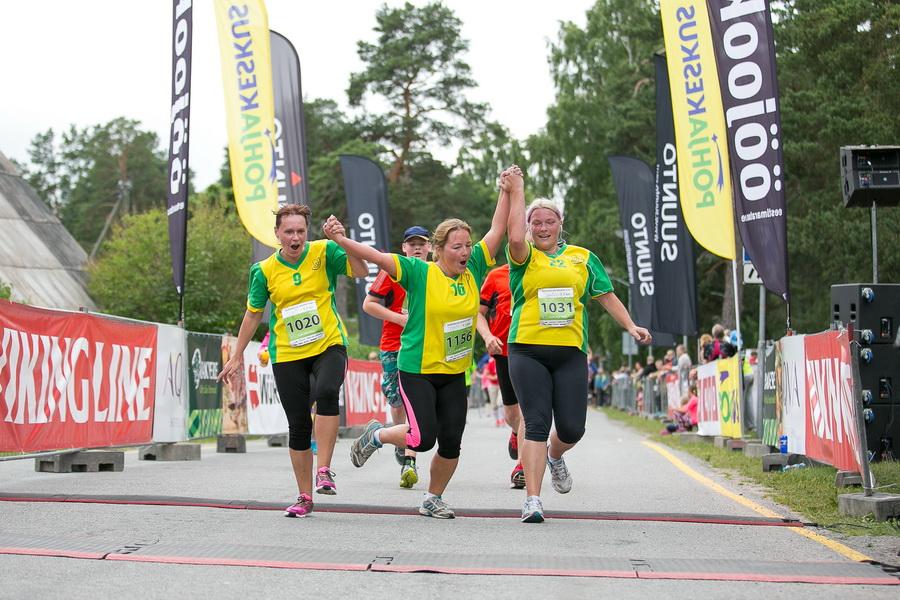 SÜDASUVE MARATON! Laupäeval antakse Võsul stardipauk Viking Line Südasuve Maratonile