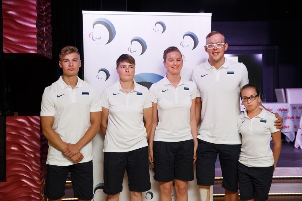 OLÜMPIA! Rios esindab Eestit viis parasportlast