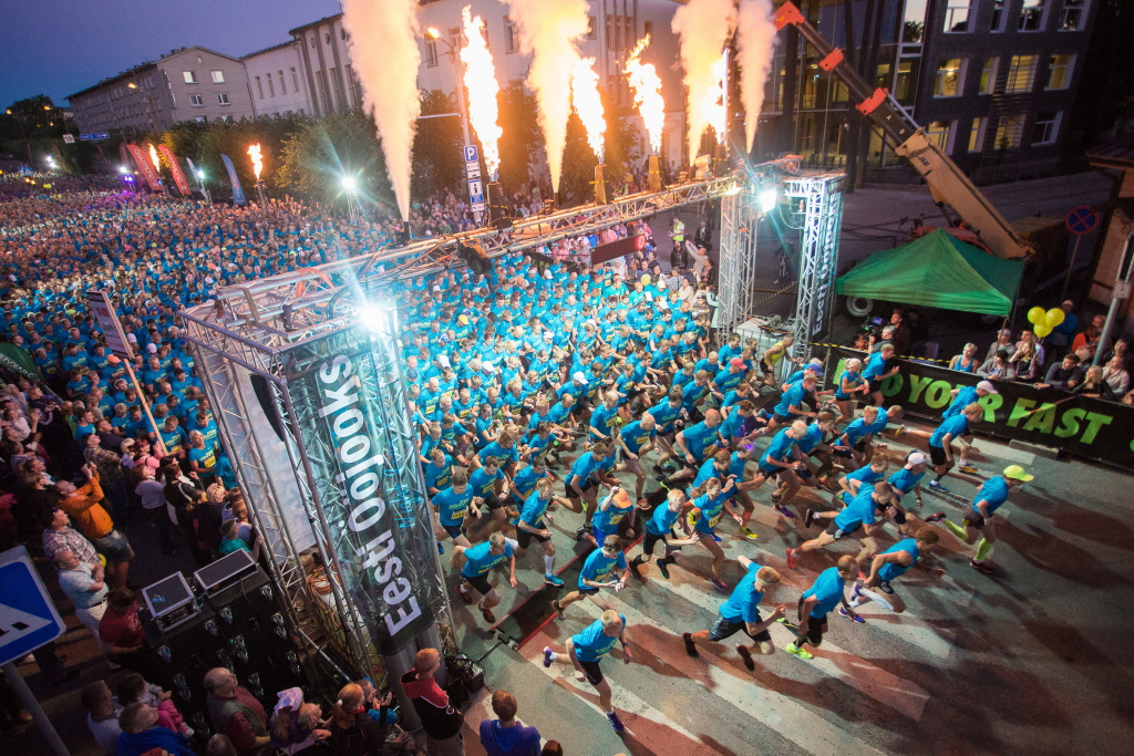 ÖÖJOOKS! Baltikumi kõige erilisem jooksufestival tuleb kuuendat korda