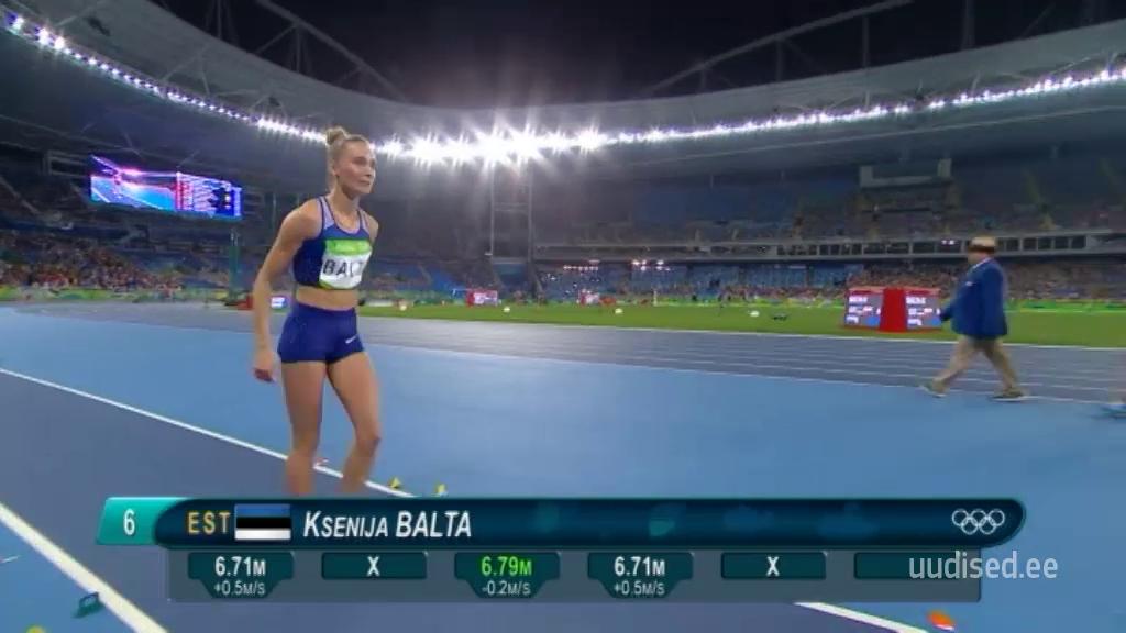 6. KOHT! Ksenija Balta saavutas olümpial suurepärase kuuenda koha