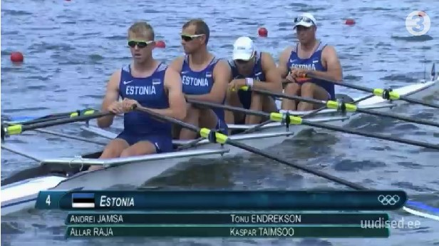 VIDEO! EESTILE PRONKSMEDAL! Eesti sõudmise neljapaat võitis Rio olümpial pronksmedali