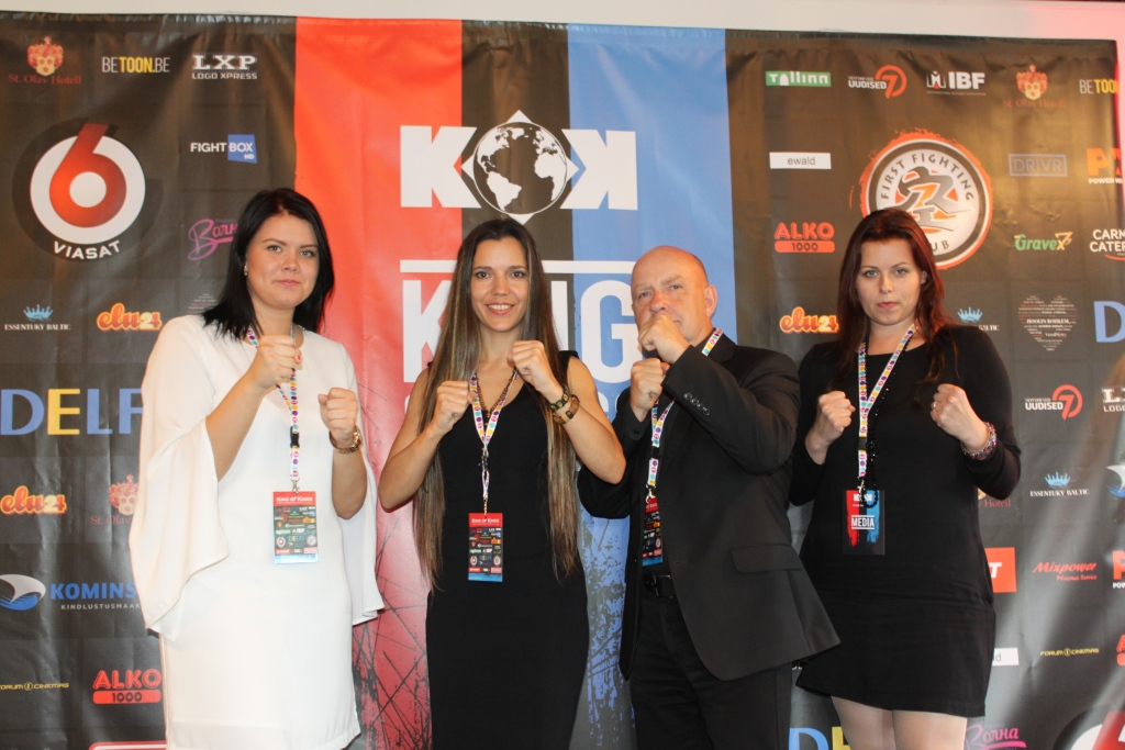 King of Kings 2016 Eesti pressikonverents