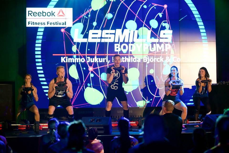SUUR TREENINGPIDU! Reebok Fitness Festival annab igaühele midagi