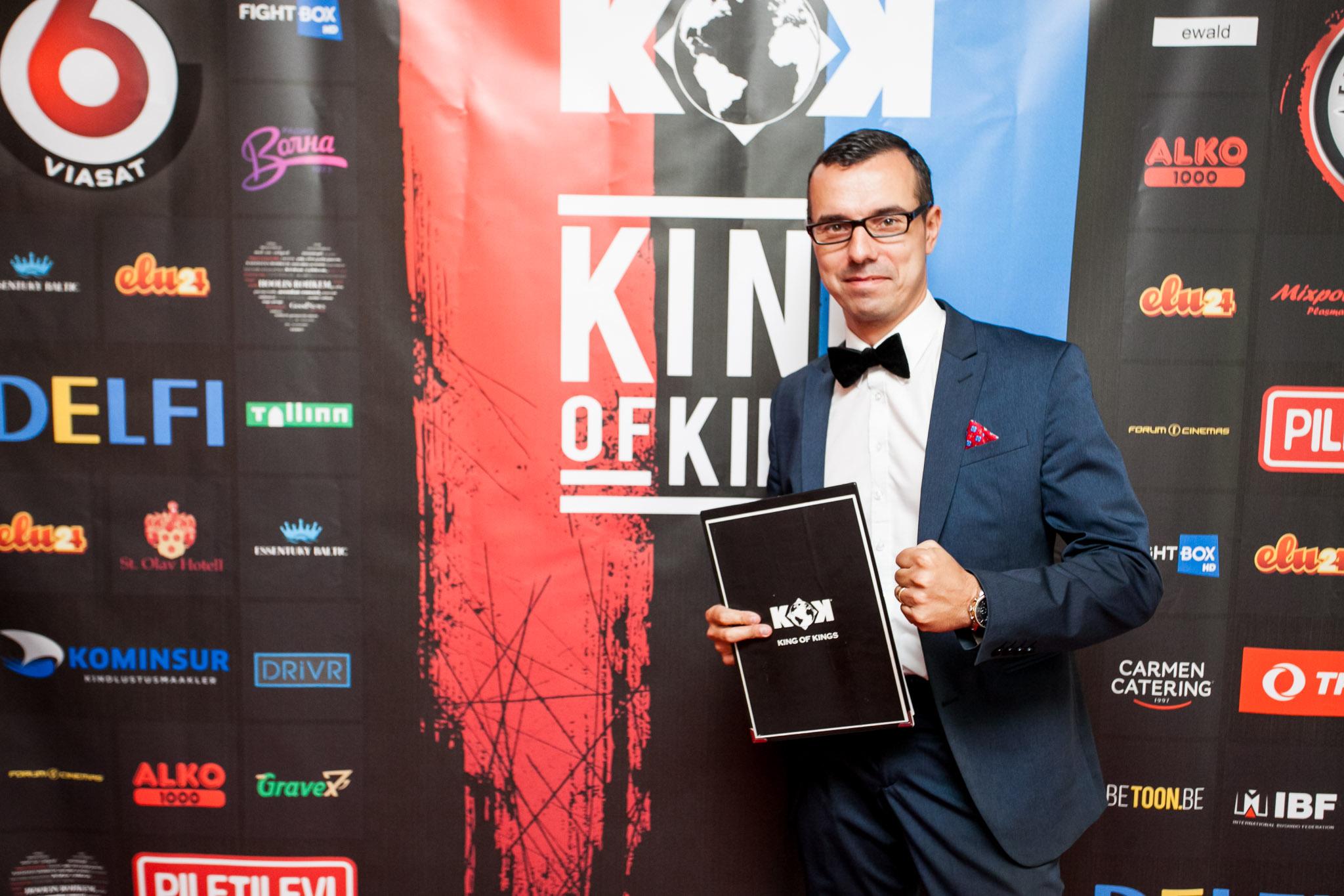 INTERVJUU! King of Kings õhtujuht Rytis Kuzmenka: võitlejatele on need kolm minutit ringis terve igavik