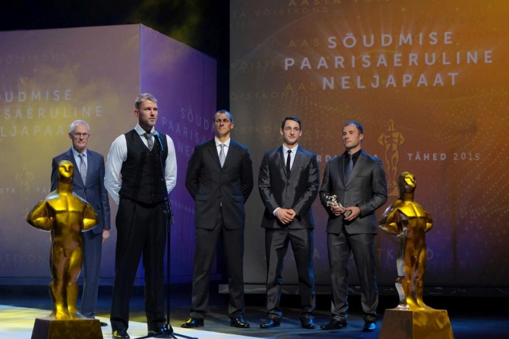 Spordiaasta Tähed 2015 gala Aasta võistkond