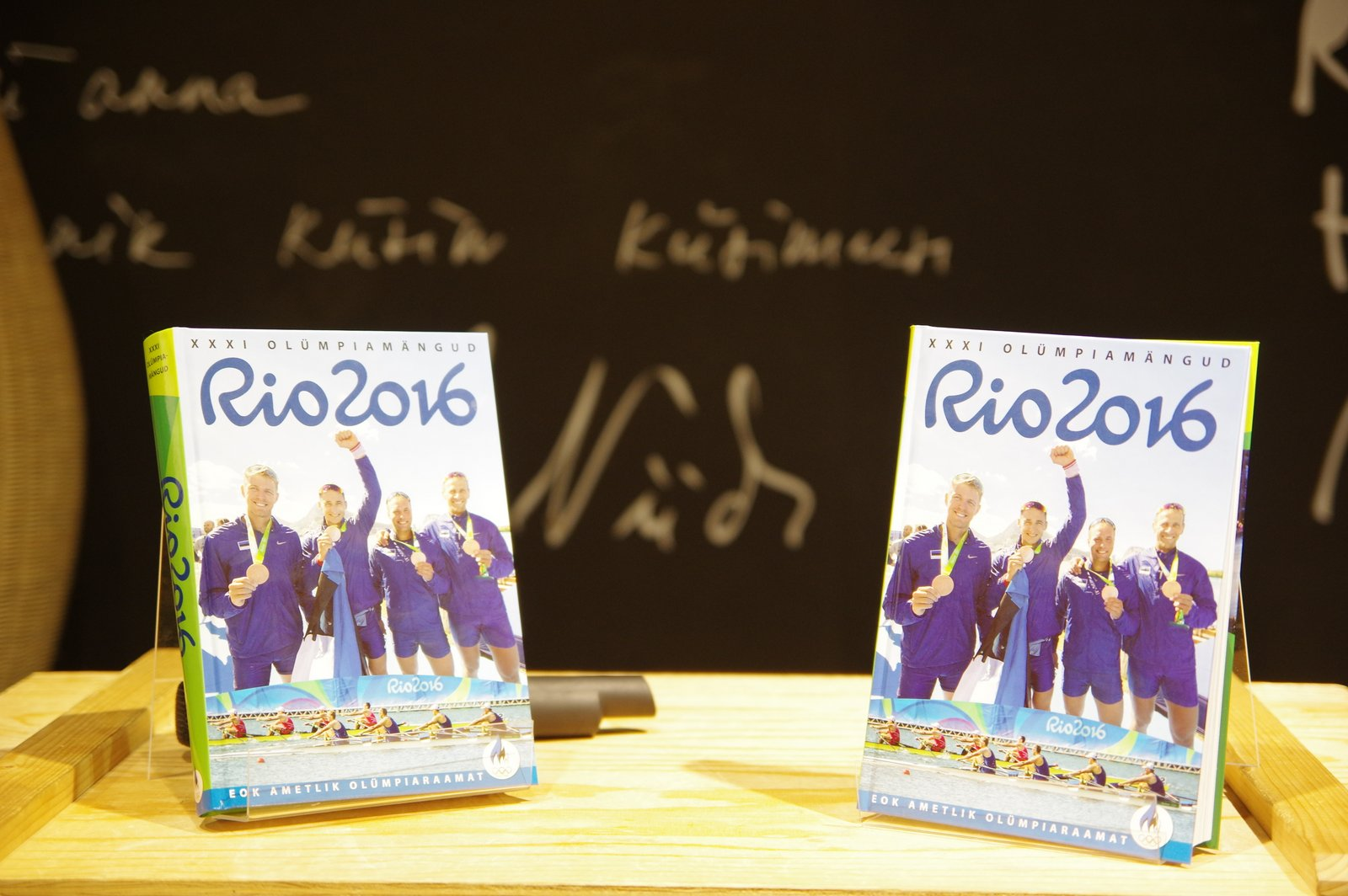 Ilmus Rio olümpiamängudele pühendatud raamat