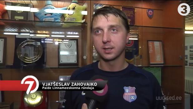 Video! Täispikk intervjuu! Eesti jalgpalliliiga suurim väravamasin Vjatšeslav Zahovaiko räägib oma edu saladusest