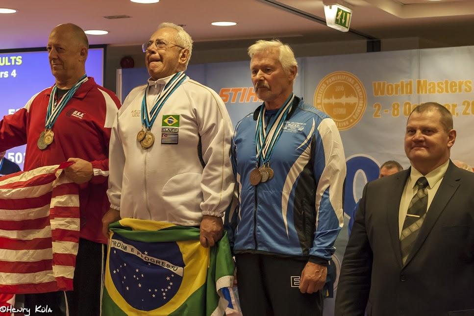 Eestlased noppisid jõutõstmise MM-il Masters-klassis esimesed medalid