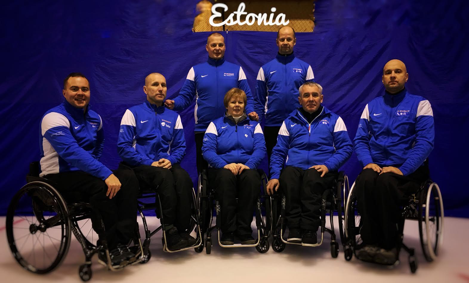 Eesti ratastoolicurlingu võistkond on MMil edukas