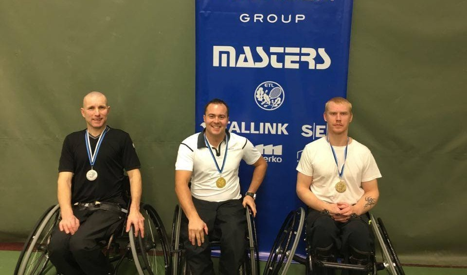 Eesti meistriks ratastoolitennises krooniti Viljar Villiste