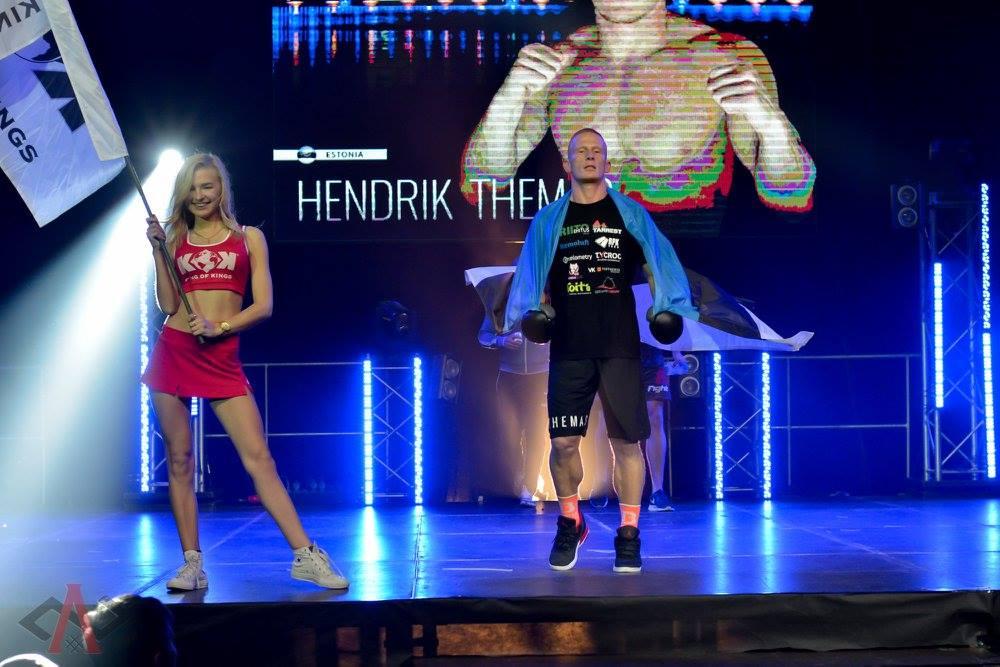 VIDEO! Vaata, kuidas treenib Hendrik Themas Number One Fight Show`ks