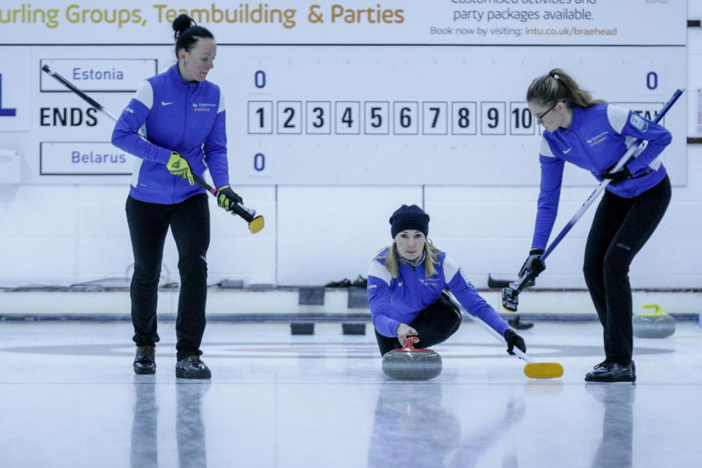 PALJU ÕNNE! Eesti curlingunaiskond tuli  EM-i B grupis kolmandale kohale