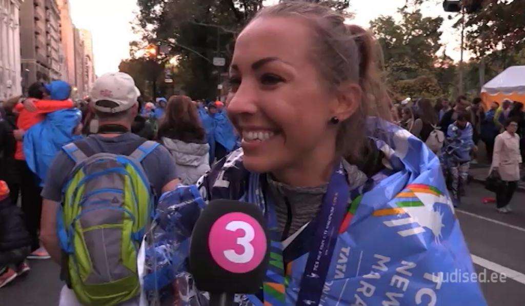 Kertu Jukkum ausalt New Yorgi maratonist: iga lisanduv kilomeeter tõi üha süngemaid mõtteid