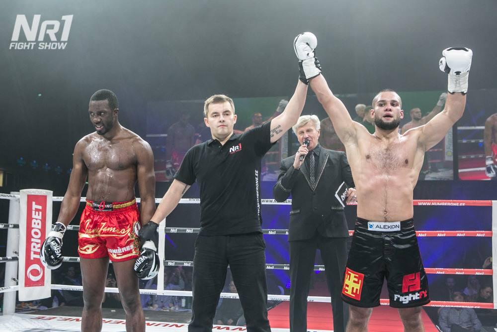 NUMBER ONE FIGHT SHOW! Maksim Vorovski alistas neljakordse maailmameistri Cheick Sidibe