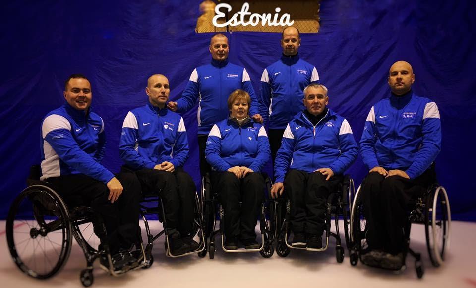 PALJU ÕNNE! Eesti ratastoolicurlingu võistkond saavutas MM kvalifikatsioonivõistlustel 5. koha