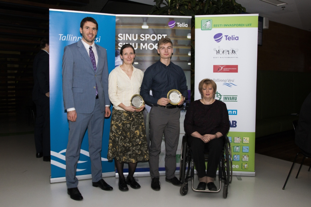 GALERII! Eesti Invaspordi Liit kuulutas välja parimad sportlased