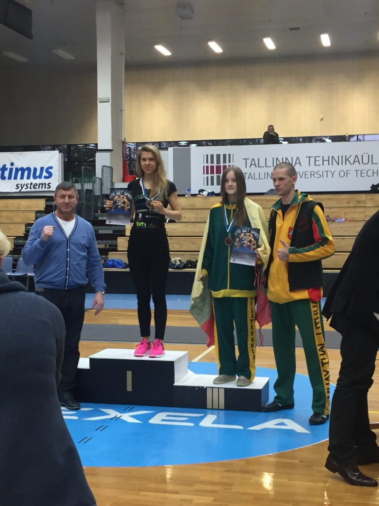 Astrid Johanna Grents näitas FFC Est Open kickpoksiturniiril kõrget taset